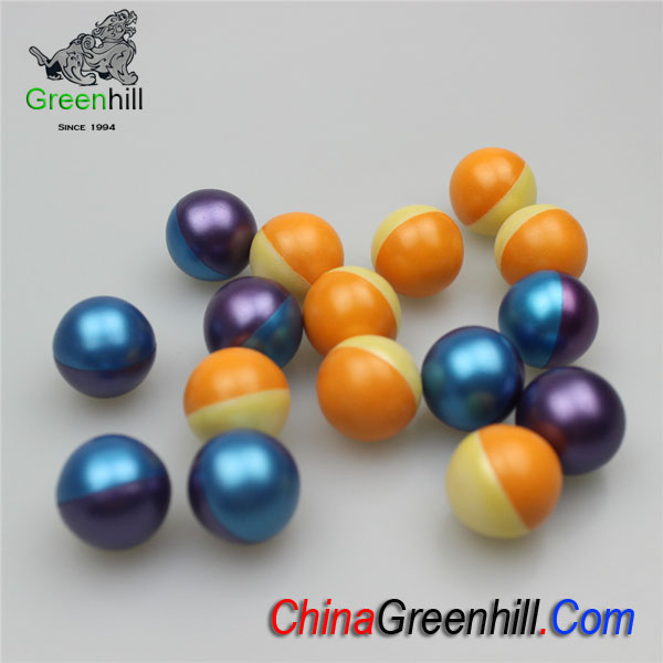 Double-Color Paintballs of Premium Grade
